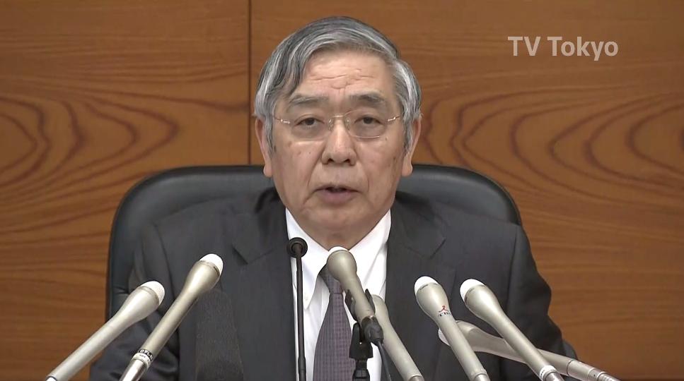 注意!三方面关注日央行行长黑田东彦讲话