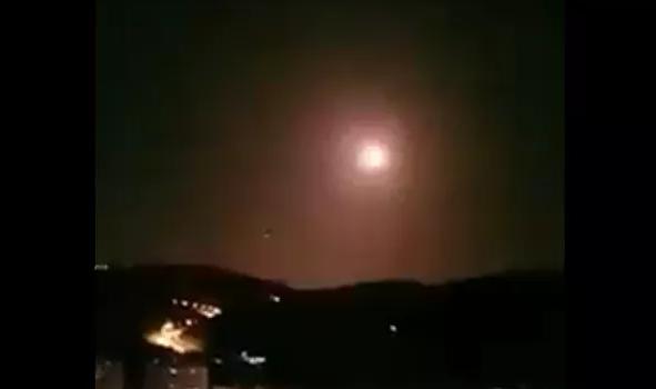 以色列空袭叙利亚首都大马士革至少4次爆炸声